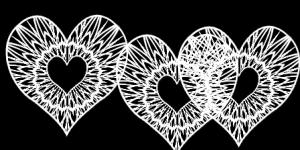 Elegant Heart Brush by marimbagirl