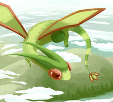Day 3 - Flygon by gIassmoth