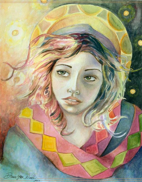 Virgin Mary by DawnstarW