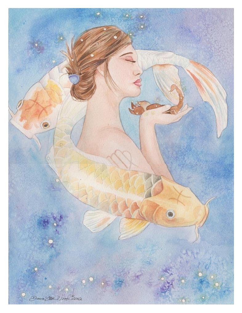 Commission - Family Zodiac by DawnstarW