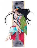 Priestess of Secrets - Yuuko Ichihara fan art by DawnstarW