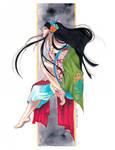 Priestess of Secrets - Yuuko Ichihara fan art