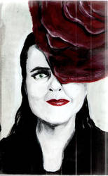 Amelie Nothomb by MirebenWitch