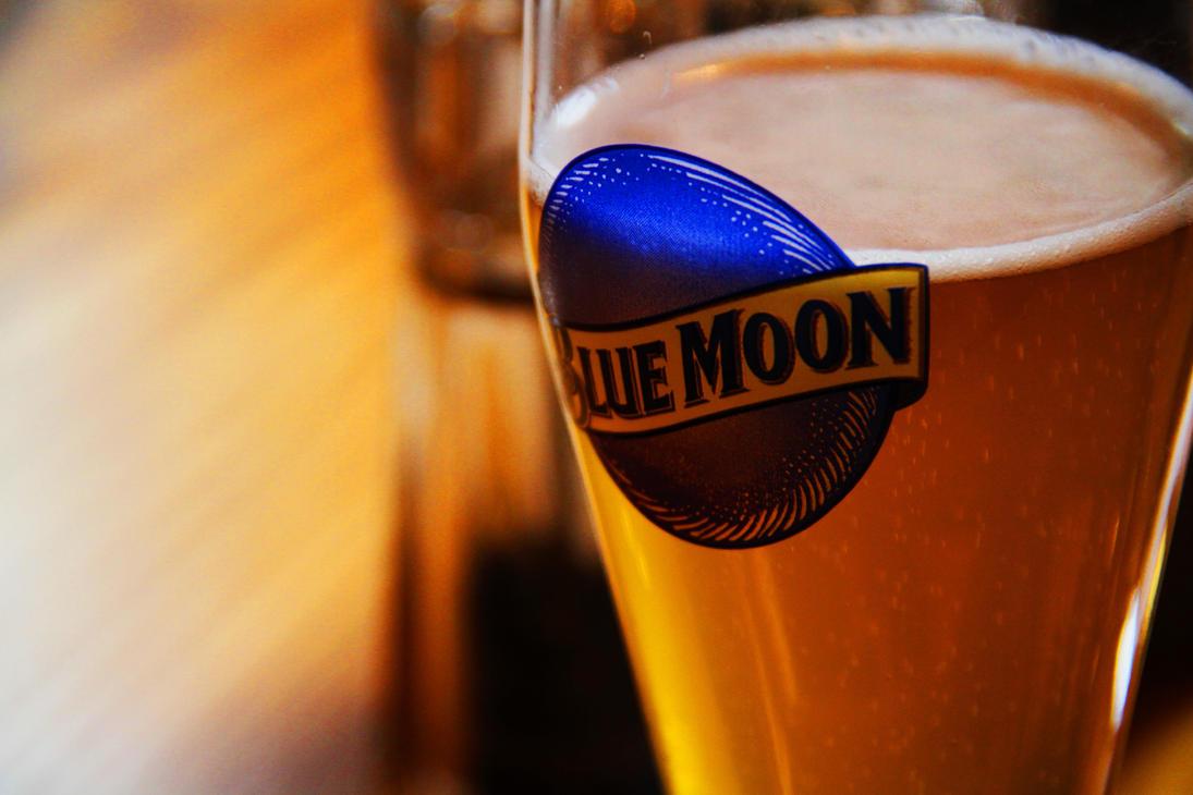 blue moon beer by sirbretty on deviantart