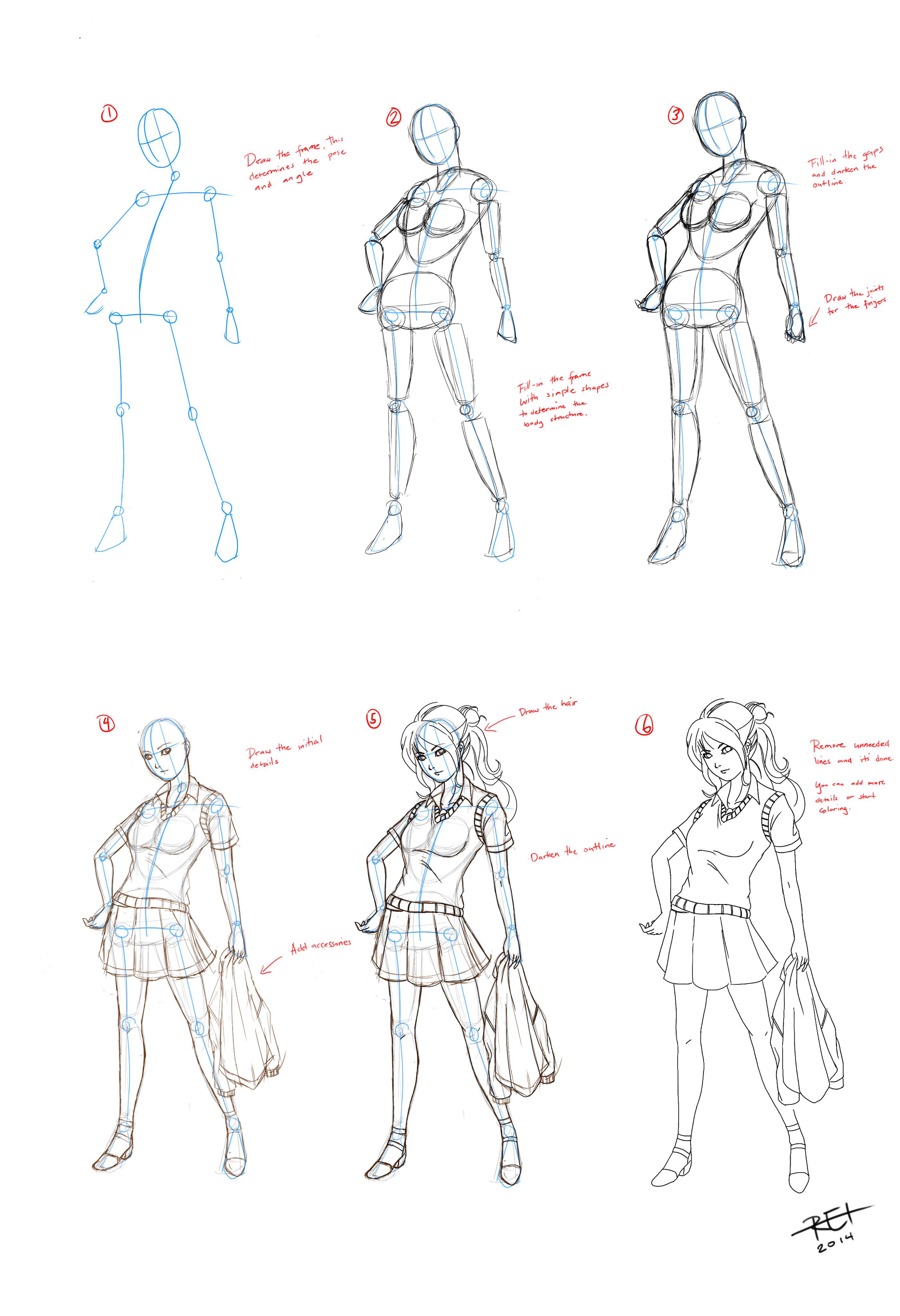 basic drawing tutorial by reiman76 on deviantart