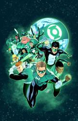 Green Lantern Corps fanart