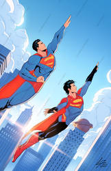 Superman and Son commission