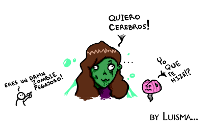 Mas cerebros... by LuisUrquiola