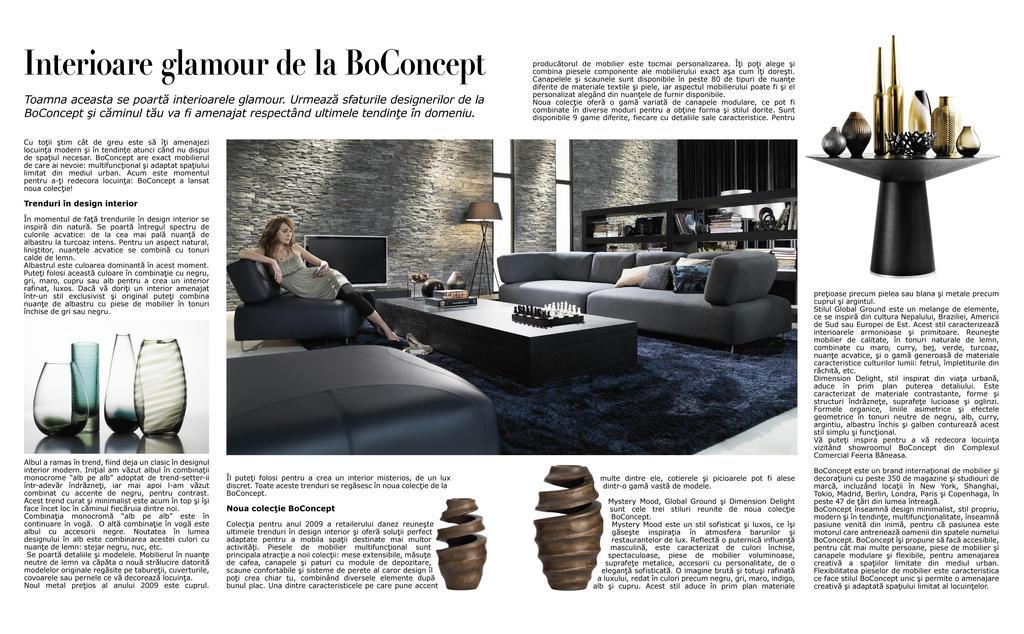 magazine article layout