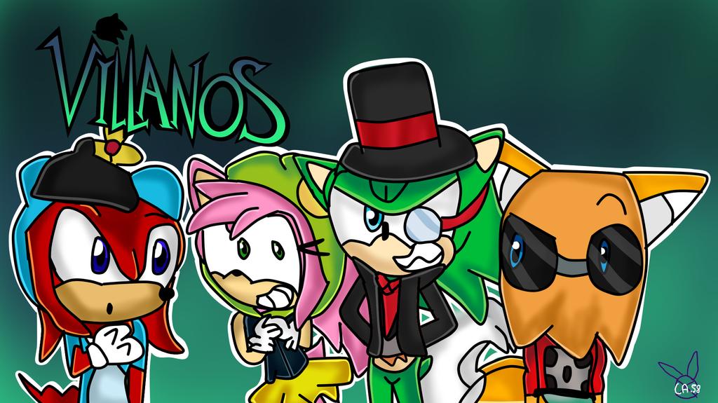 villanos version antis by Camy58
