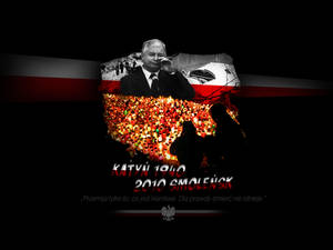 Tribute for Katyn and Smolensk