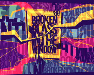 Broken Glass by Scash