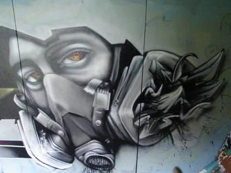 Gasmask by TesdA