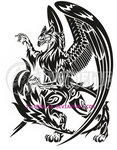Tattoo: FlameTail Gryffin