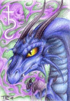 ACEO: Lord Erik by Illumielle