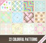 Patterns 26 - Colorful Patterns Set