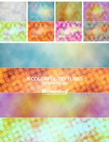 Colorful Gunge Textures 01 by Ransie3