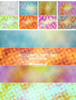 Colorful Gunge Textures 01