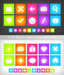 Fluo Blog Icons