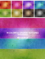 Colorful Gunge Textures 02 by Ransie3