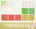 Christmas Pixel Patterns