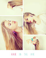 Hair in the Air - Collage 2 by Ransie3