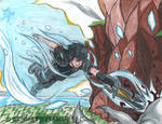 Warp Strike! Final Fantasy XV Fanart