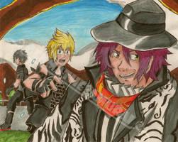 Snap Snap Away! Final Fantasy XV Fanart