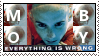Moby Everything Is Wrong Stamp by Spade6179