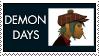 Demon Days 2D Stamp by Spade6179