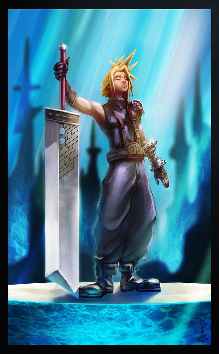 Cloud Strife by UMTA