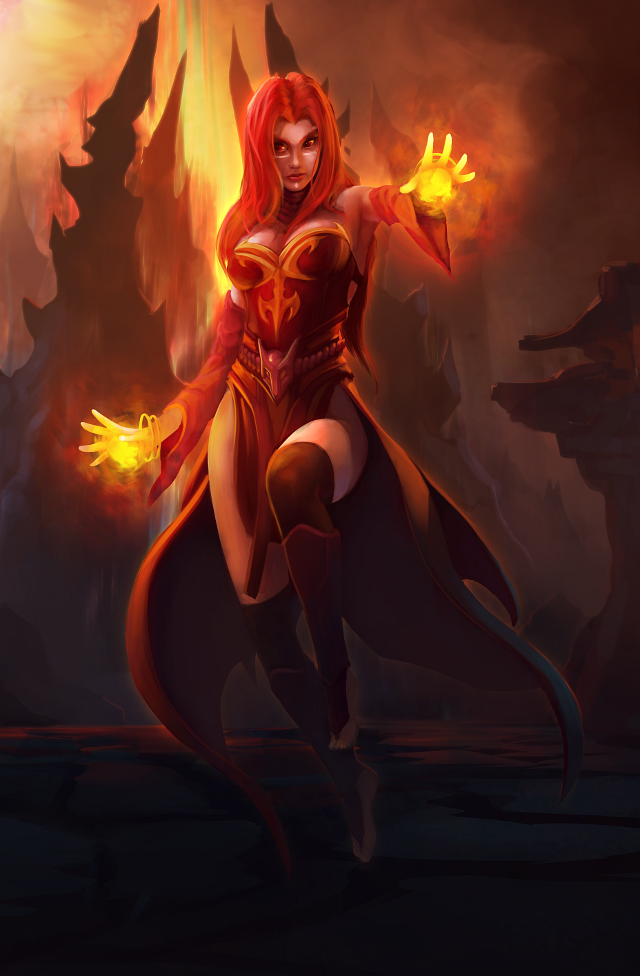 lina inverse by umta on deviantart