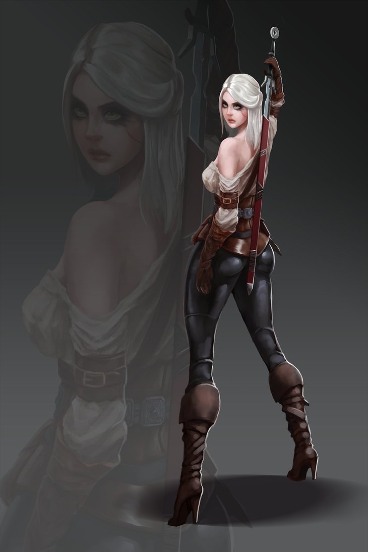 Ciri from Witcher by UMTA