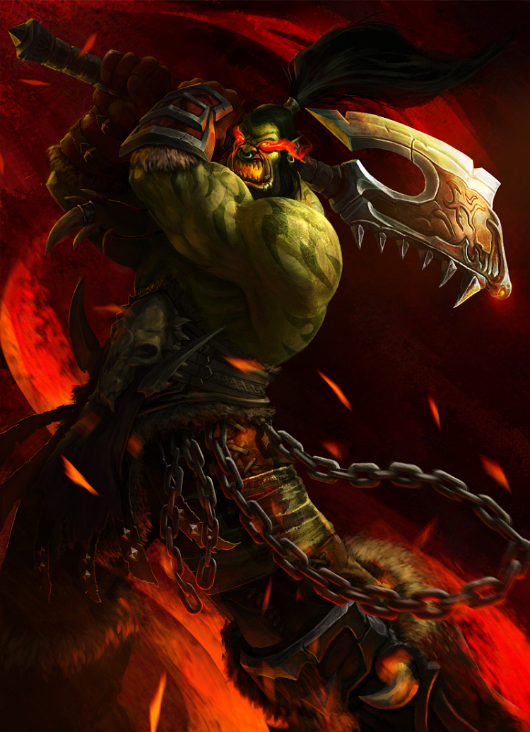 ... : [GAME] Rate The Character /10! SPECIAL Day #70: Grommash Hellscream