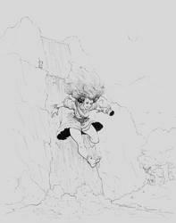 Inktober #11 - Run