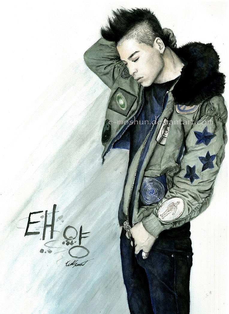 Taeyang -  Tonight: Watercolour2 by e-moshun