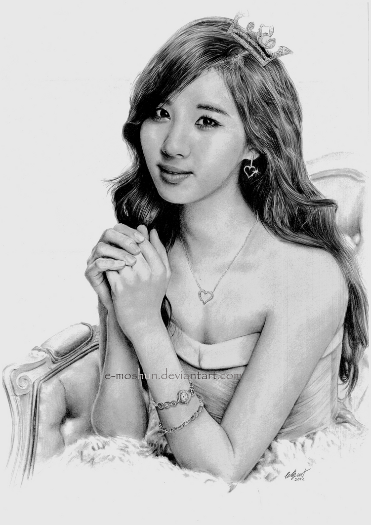 Seohyun Drawing - SNSD by e-moshun