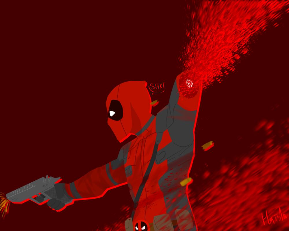 Deadpool by E-non