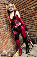 Harley Quinn Arkham City ~ by LeanAndJess