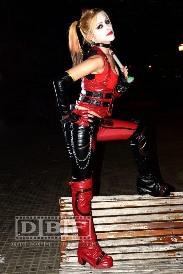 Harley Quinn Arkham City by LeanAndJess