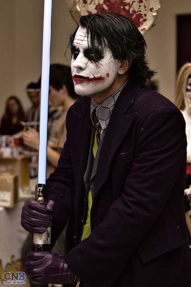 The Joker cosplay by LeanAndJess