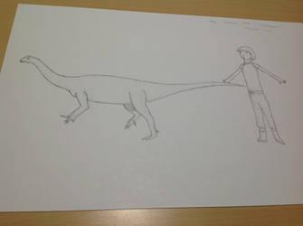 Daily Dinosaur #510 - Jingshanosaurus, Jingshan by Atlantis536