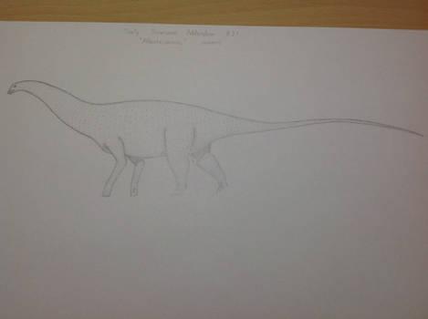 DDA #27 - 'Atlantosaurus' immanis
