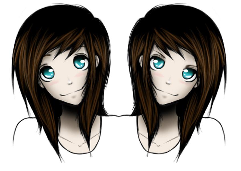 My evil twin by diva799 on DeviantArt