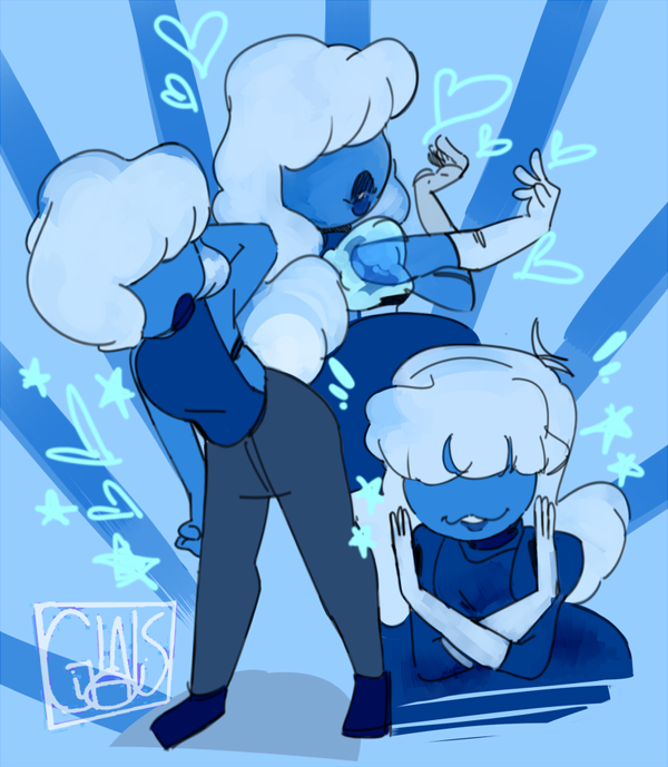 PART OF AN ART TRADE WITH glitter4gore!!!! IM SORRY ITS SO LATE..... IM WORKING ON ANOTHER SU THING TO MAKE UP FOR IT...