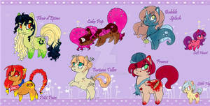 My Little Chubby .:Adoptables pack 3:.  [CLOSED]