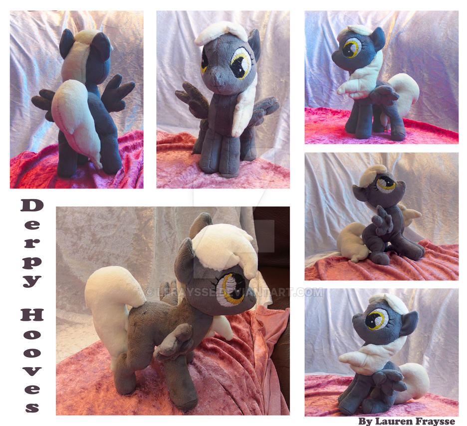 Filly Derpy Plushie [FOR SALE] by lfraysse