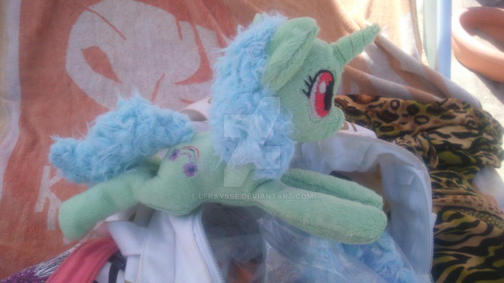 Fluffy mane ! Plush WIPs by lfraysse