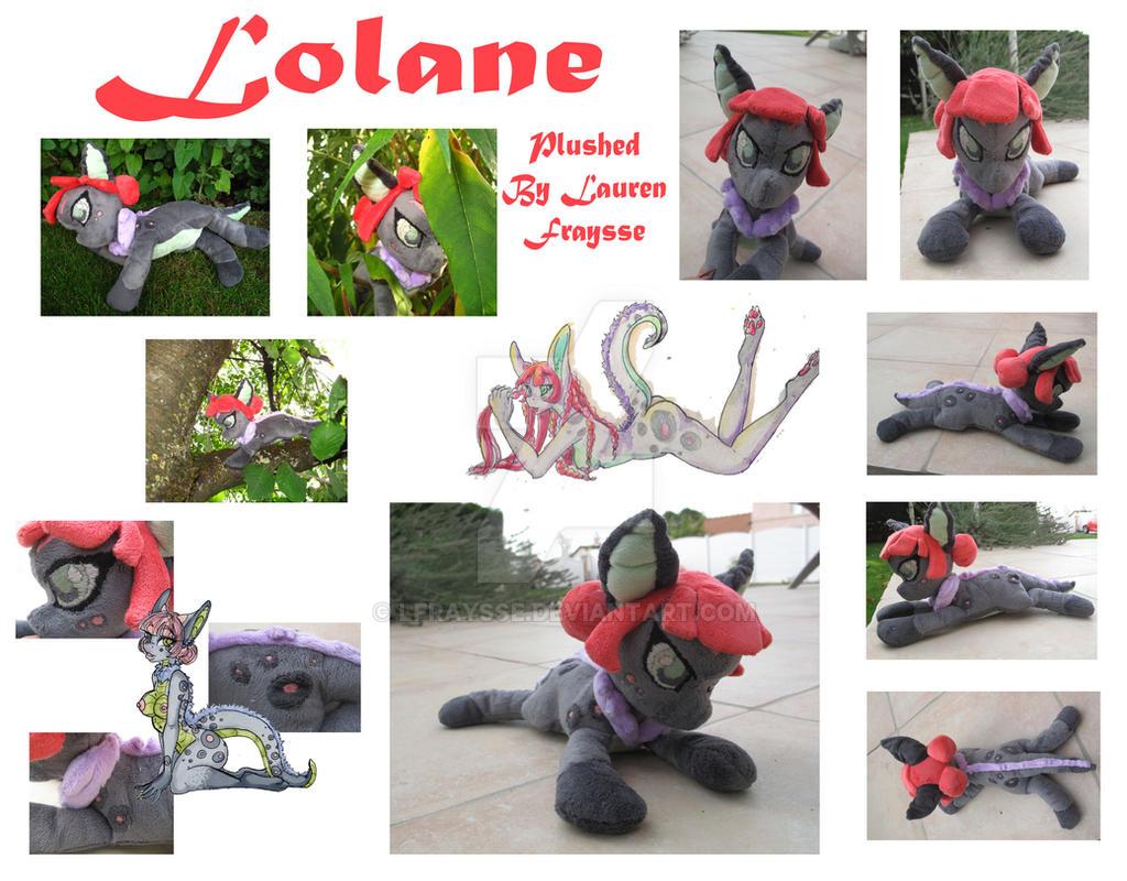 OC Plushie .:Lolane:. by lfraysse