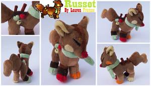 Plush Commission .:Russet the Sushidog:. by Lfraysse